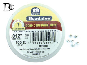 Beading Cable and Crimp Tubes
